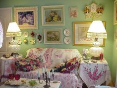 Junk GYpSy Living Room Ideas | Gypsy Nest , This is my lush living room that I made into a nest. This ...