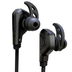 J and L Wireless Bluetooth Noise Cancelling Headphones – Black