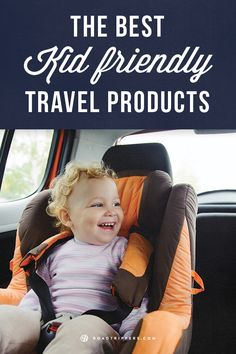 Keeping your kids happy on the road will keep you happy as well! Use this guide of the best kid friendly travel products!
