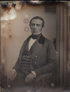 Description George Sewall Boutwell Date circa 1852 Source Museum of Fine Arts, Boston Author English: Southworth & Hawes William And Mary, Daguerreotype, Red Scarves, Museum Of Fine Arts, Early American, Historical Photos, 19th Century, Facial, Ciel Phantomhive