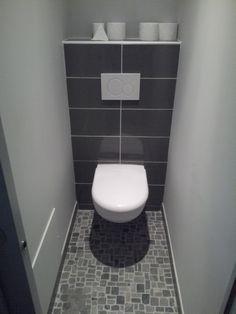 idee deco carrelage salle de bain gris - Buscar con Google