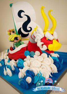Too good to eat? Legend of Zelda: Wind Walker birthday cake