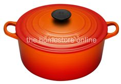 Le Creuset Round Casserole 28cm (Volcanic Flame) - The Homestore NZ