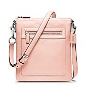 PINK-LEGACY LEATHER SWINGPACK