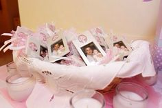 #baptism #baby #pink #girl #favors
