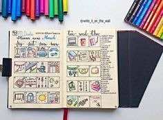 Doodle day by day - March Doodle Lettering, Hand Lettering, Diy Agenda, Bullet Journal Junkies, Bullet Journal Inspiration, Smash Book, Filofax, Doodles, Planners