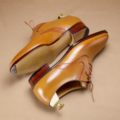 Other pair of split whole-cut shoes from the trunk show at @leffot in May. #hiroyanagimachi #madetoorder #trunkshow