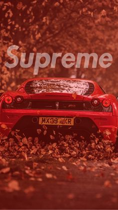 Supreme Ferrari wallpaper by Prybz - 02 - Free on ZEDGE™ Supreme Iphone Wallpaper, Nike Wallpaper Iphone, Hype Wallpaper, Iphone Background Wallpaper, Cool Backgrounds, Trendy Wallpaper, Aesthetic Iphone Wallpaper, Cellphone Wallpaper, Cool Wallpaper