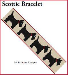 Scottie Bracelet Pattern at Sova-Enterprises.com