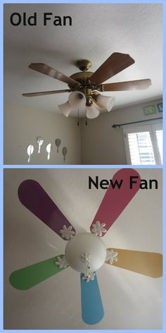 Add a drum shade to your ceiling fan in 5 minutes    Home Sweet Home     Replacing a Ceiling Fan