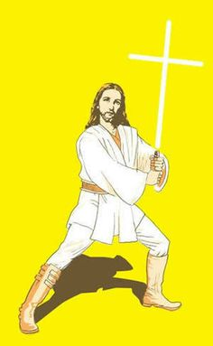 Jedi Jesus joined His Father on the Holy Side of the Force