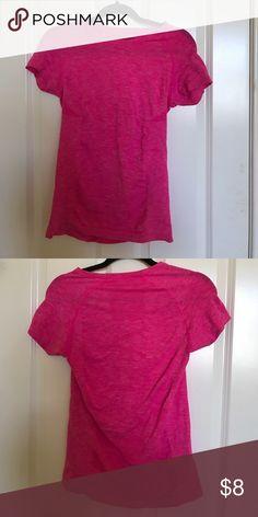 pink victoria's secret VSX workout t-shirt VSX brand new pink workout top! dry fit! Victoria's Secret Tops