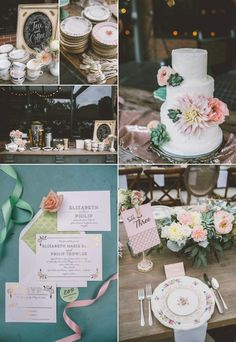 Inspirational Wedding Ideas #212: English-Inspired Wedding - http://www.diyweddingsmag.com/inspirational-wedding-ideas-213-english-inspired-wedding/