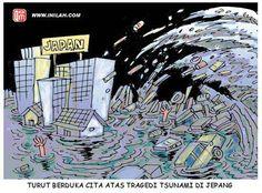 Dampak gempa dan tsunami Jepang dinilai akan lebih memberikan ancaman serius bagi kondisi perekonomian dan politik nasional daripada sekadar berita heboh media massa Australia tersebut. Tsunami, Japan, Politics, Japanese Dishes, Tsunami Waves, Japanese