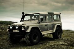 Another Land Rover Defender