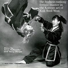 """Master Choon Ok Harmon """"Iron Butterfly"""" highest ranking female in Kuk Sool Won"""