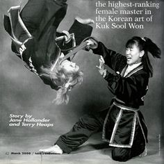 "Master Choon Ok Harmon ""Iron Butterfly"" highest ranking female in Kuk Sool Won"