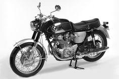 1966 Honda Black Bomber