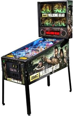 The Walking Dead Premium Edition Pinball Machine | From Stern Pinball |   Get more information about this game at: http://www.bmigaming.com/games-pinball-new.htm