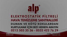DUMAN VE KOKU FİLTRASYONU - BOSTANCI / İSTANBUL - ALP ELEKTROSTATİK FİLTRE