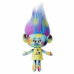 DreamWorks Movie Trolls Poppy Branch Hug Plush Doll Toy Kids Xmas Gifts color *** Be sure to check out this awesome product.Note:It is affiliate link to Amazon.