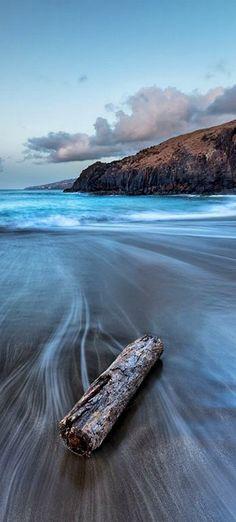 Blue Fade   Taken at Caniçal Beach, Madeira Island