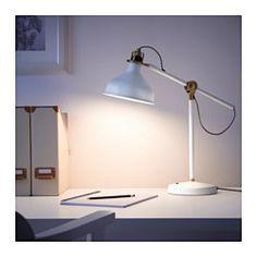 IKEA - RANARP, Lampe de travail, , Facile de diriger l'éclairage selon les besoins grâce au bras réglable et à la tête orientable.Procure un faisceau lumineux dirigé parfait pour la lecture.