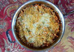 Chicken Parmesan Skillet Pasta {No Boil}