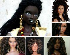Incredible Custom Natural Hair Dolls