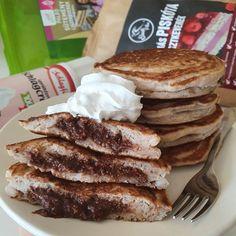 Kesunellával töltött amerikai pali 8db Pancakes, Breakfast, Food, Morning Coffee, Eten, Meals, Pancake, Morning Breakfast, Crepes