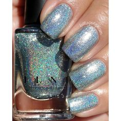 Check out @ilnpbrand Shoreline from the summer collection, on my blog now! #ilnpbrand #ilnpshoreline #prsample Navy Blue Nails, White Glitter Nails, Metallic Nail Polish, Glittery Nails, Nail Polish Designs, Cute Nail Designs, Nail Polish Colors, Nails Design, Love Nails