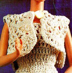 PDF Barbie Dolls 'Party' Dress & Hat Crochet by TheAtticofKitsch