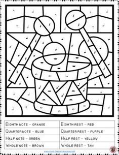Music Lessons  |  26 Music Coloring Pages   |   #musiceducation   #musiced