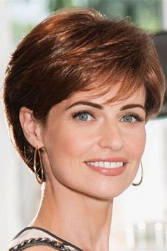 Cheap and Short Layered Curly Lace Front Synthetic Hair Wigs 10 Inches Short Shag Hairstyles, Haircuts For Fine Hair, Haircut For Thick Hair, Short Hair With Bangs, Short Hair With Layers, Short Hair Cuts For Women, Short Hairstyles For Women, Hairstyles With Bangs, Short Haircuts