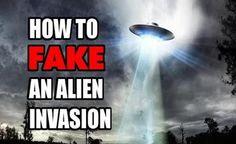 Você está preparado para uma falsa invasão EXTRATERRESTRE Global?