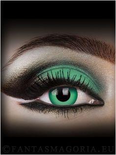 Green contact lenses (pair)