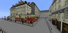 Minecraft Plans, Minecraft Creations, Minecraft Projects, Minecraft Designs, Minecraft Stuff, Minecraft City Buildings, Minecraft Architecture, Minecraft Decorations, Street View