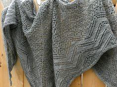 Free Pattern: Theodora Shawl