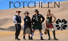 The Celtic rock band, POTCHEEN, plays the Pre-Saint Paddy Party on Friday, March 7th at 9:00PM at Jack's Quinns, Colorado Springs, CO. Get green!! - Hipster Mama Productions #hmpros