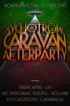 Psychotropic Caravan Afterparty at Roadburn 2012