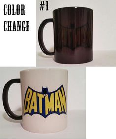 Batman Coffee Mug 11oz  Na Na Na Na Na Na Na Na NA Na Batman!!  Ready for you to show off to your friends or be gifted  Note our color changing mugs,
