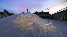Built by BIG in Hellerup, Denmark with date 2013. Images by Jens Lindhe. BIG conceived a large multifunctional space that could be used for sports, graduation ceremonies and social events.Th...