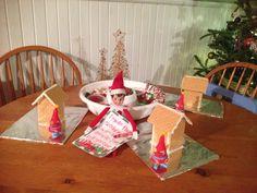 Fun Elf on a Shelf idea - decorating party