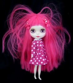 The unbearable pinkness of being...blythe... by Pink Anemone, via Flickr