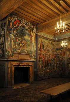 La chambre du Roi - Château d'Ecouen - Val d'Oise | Flickr - Photo Sharing!