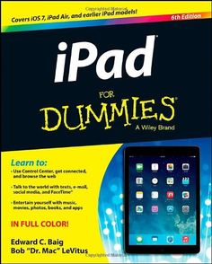 iPad For Dummies by Edward C. Baig http://www.amazon.com/dp/1118723066/ref=cm_sw_r_pi_dp_5B9Gub0GGYF6F