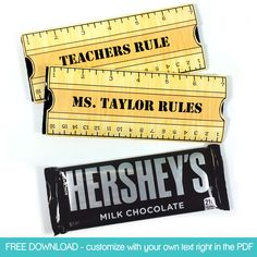 Free download -->> teacher appreciation gift to print and make!