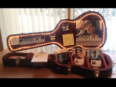 Making a Musician's Merchandise Display Case - YouTube