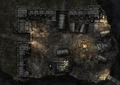 Maphammer is creating battle maps for D&D, Pathfinder and other tabletop games. Dungeon Tiles, Dungeon Maps, Dark Sun, Pathfinder Maps, Map Sketch, Night Forest, D&d Dungeons And Dragons, Fantasy Map, Fantasy Setting