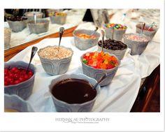 I want an ice cream/ candy bar at my wedding